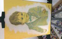 Portret in creion si pasteluri!