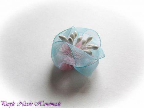 Aisha - brosa floare textila