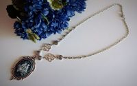 """""""Kissed in Gray"""" Necklace"""