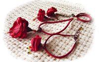 clopotei rosii de matase