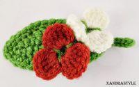 Brosa flori pe frunza- concurs Martisor cu dor