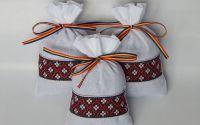 Saculet cu lavanda cu motive traditionale 7