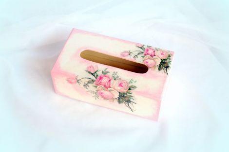 Cutie servetele de hartie - romantic roses - 1002