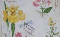 1271 Servetel iris si alte flori