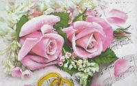 1282 Servetel trandafiri si verighete