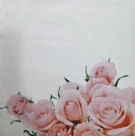 1287 Servetel trandafiri roz