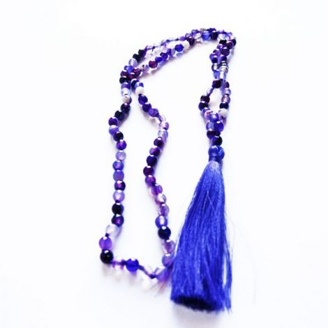 Colier 108 Mala Beads Agate Fatetate