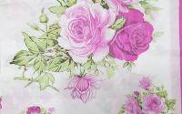 1305 Servetel buchet trandafiri roz