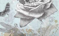 1306 Servetel trandafir si fluturi