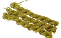 27m snur nylon tip Shamballa 1mm - OLIVE YELLOW