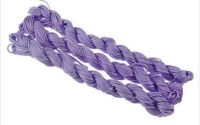 27m snur nylon tip Shamballa 1mm - LIGHT AMETHYST