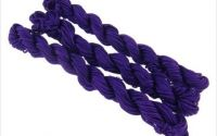 27m snur nylon tip Shamballa 1mm - DARK PURPLE