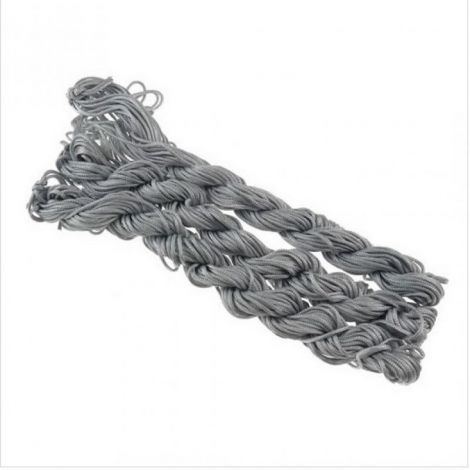 27m snur nylon tip Shamballa 1mm - GUN GREY