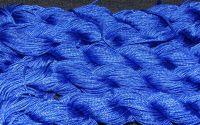 27m snur nylon tip Shamballa 1mm - BLUE