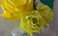 Flori de pus in piept - cocarda nunta