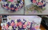 Cordelutecoronite si piepteni din flori colorate
