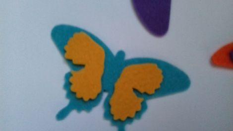 Fluturi din fetru