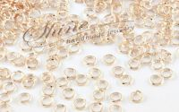 Zale rose gold 4x0.7mm 50buc