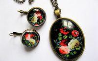 set model floral