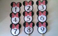 Numere masa botez Minnie