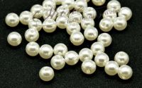 Perle ivory acril 6x5.5mm