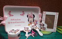 Set pentru mot cu Minnie Mouse- roz