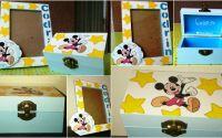 Set rama si cutie cu Mickey Mouse