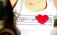 Tricou- maiou muzica jazz GOOD MORNING HEARTACHE