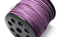 Snur Suede Purple 3.0x1.4mm