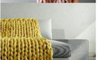 Paturi tricotate din fir gigant