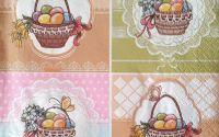 1319 Servetel cosuri cu oua