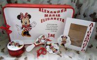 Set cu Minnie Mouse- rosu