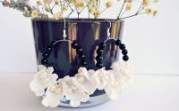Cercei cu flori