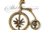 Pandantiv bicicleta velociped 31x27x2mm