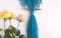 Bufnita - decoratiune handmade pentru perete