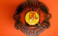Ceas de perete Vinyl clock art