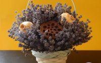 Cosulet cu levantica si alte flori uscate 2