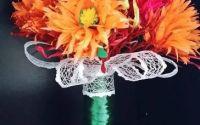 Buchet flori handmade- Concurs flori de toamna