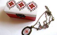 Set cadou cu motiv traditional