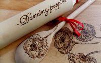 "Set bucatarie ""Dancing poppies"""