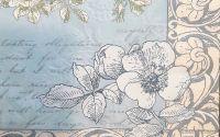 1397 Servetel cu flori grofate