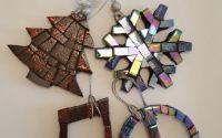 Ornamente Craciun Decoratiuni Craciun Mozaic