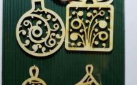 "Set ornamente de Craciun ""Cadou"""
