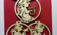 "Set ornamente de Craciun ""Ingerasi"""