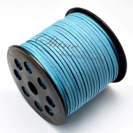 Snur Suede Dodger Blue 3.0x1.4mm