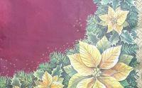 1411 Servetel bordura craciunita
