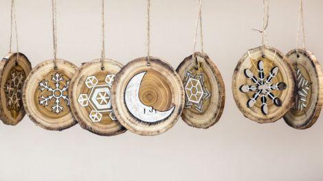 Set decoratiuni de iarna 03
