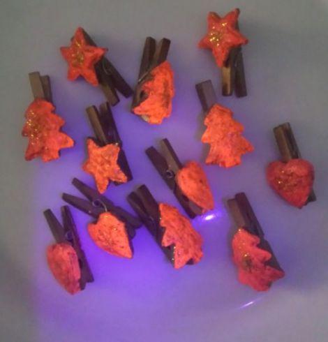 Ornamente pentru pom.Fosforesente