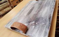 Tava din lemn antichizat