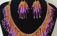 Set bijuterii ultraviolet